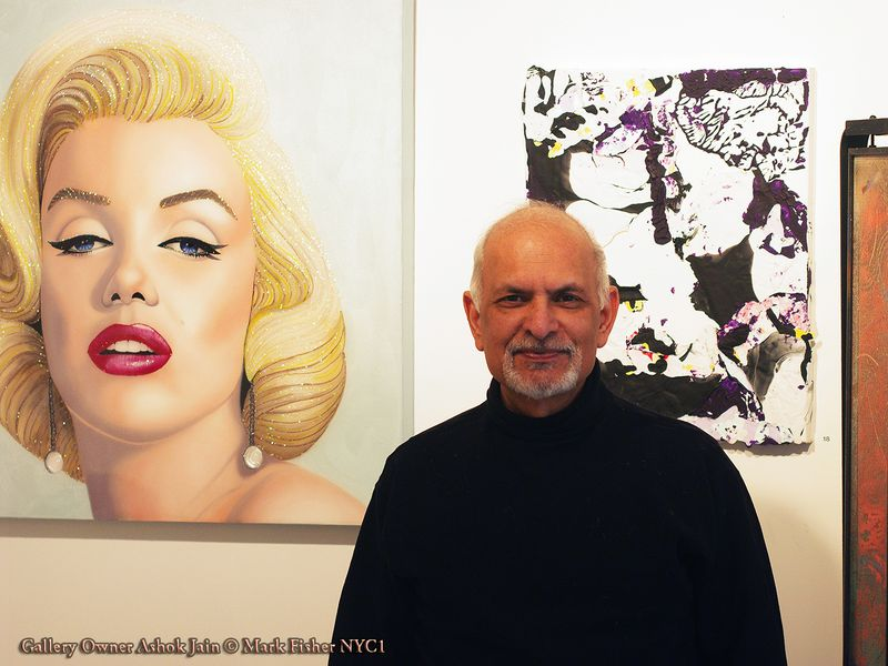 Gallery Owner Ashok Jain © Mark Fisher NYC1-5344