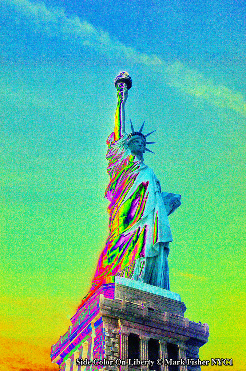 Side Color On Liberty © Mark Fisher NYC1-3871