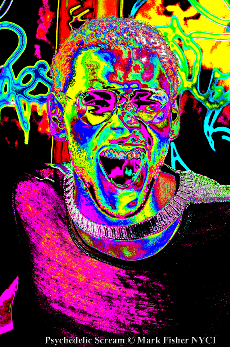 Psychedelic Scream © Mark Fisher NYC1-9331