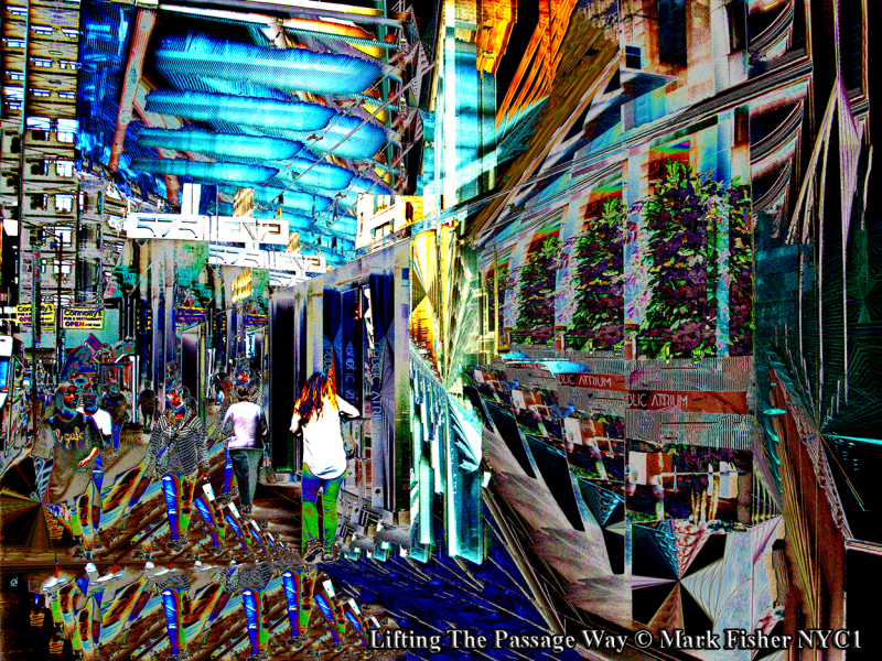 Lifting The Passage Way © Mark Fisher NYC1-0136